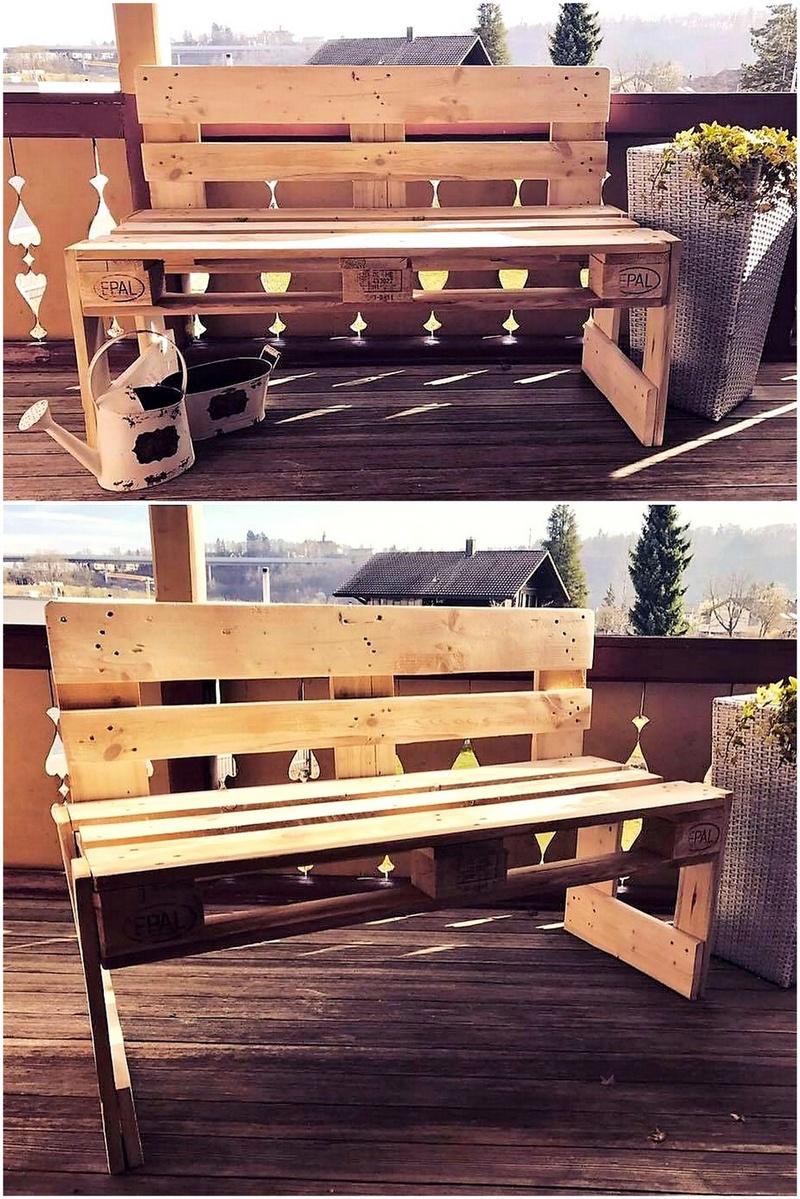 pallet bench plan
