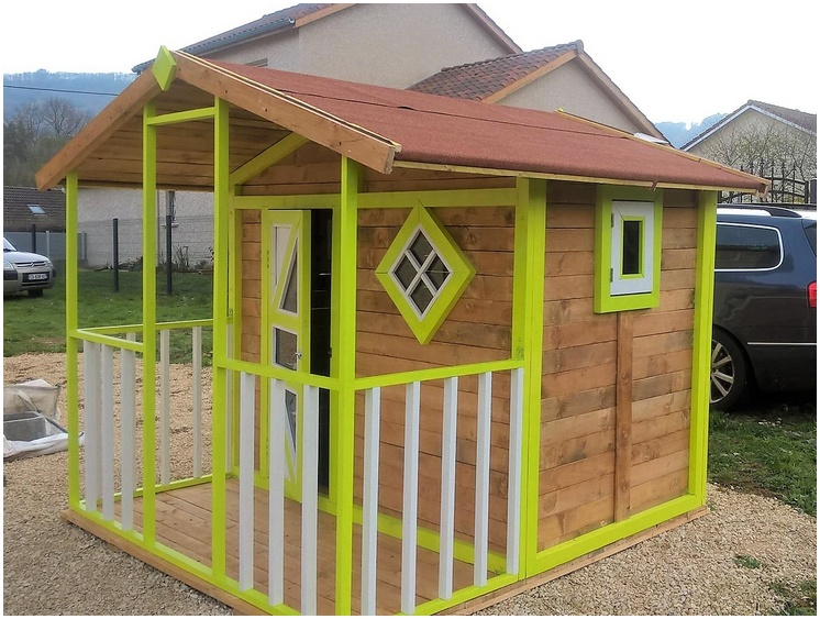 pallet patio cabin
