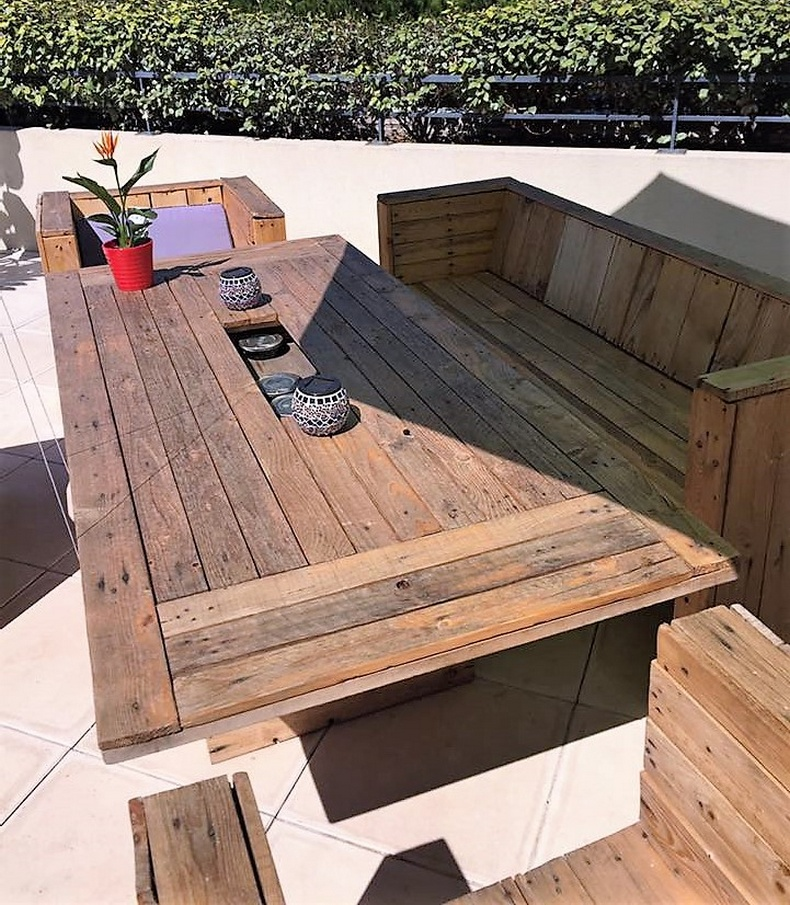 Pallet Patio Furniture 3