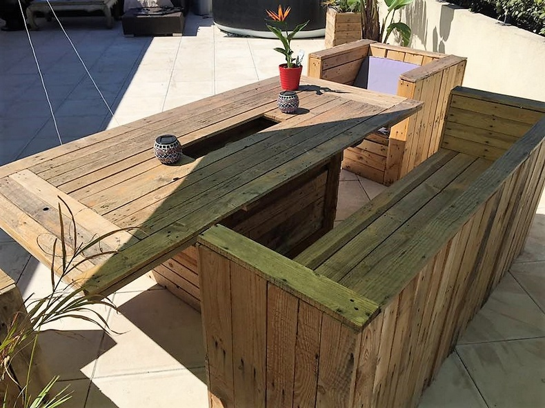 pallet patio furniture 4
