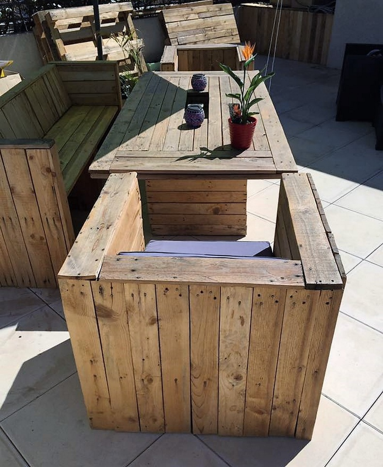 pallet patio furniture 5