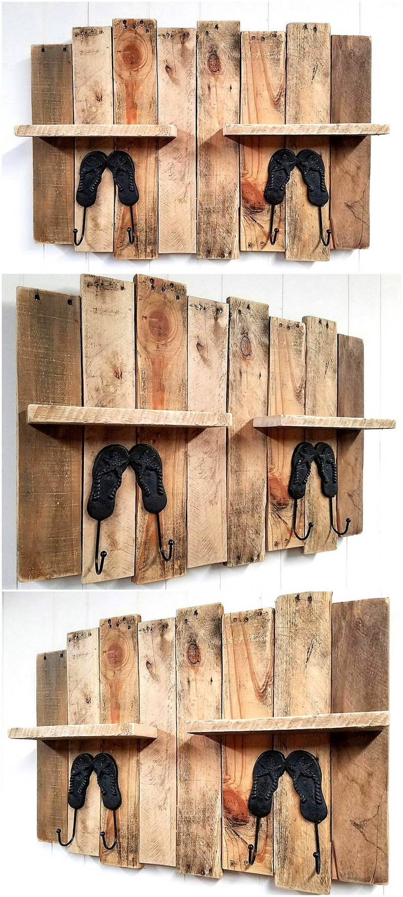 pallet shelf cum hanger