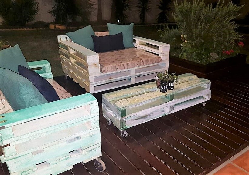 pallets made furniture