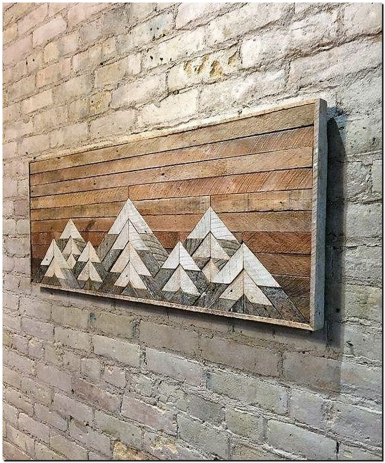 pallets wall decorart