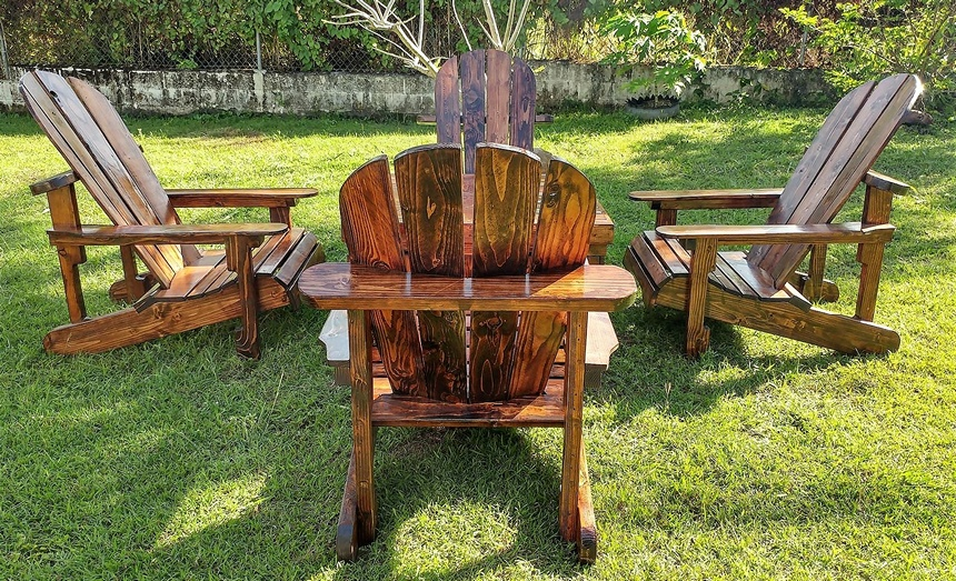 recycled wood pallet adirondack furniture