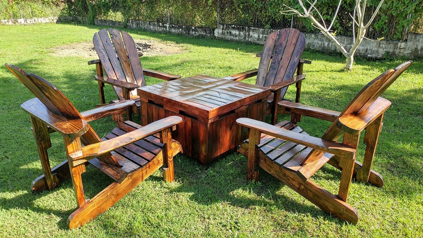 upcycled pallet adirondack furniture