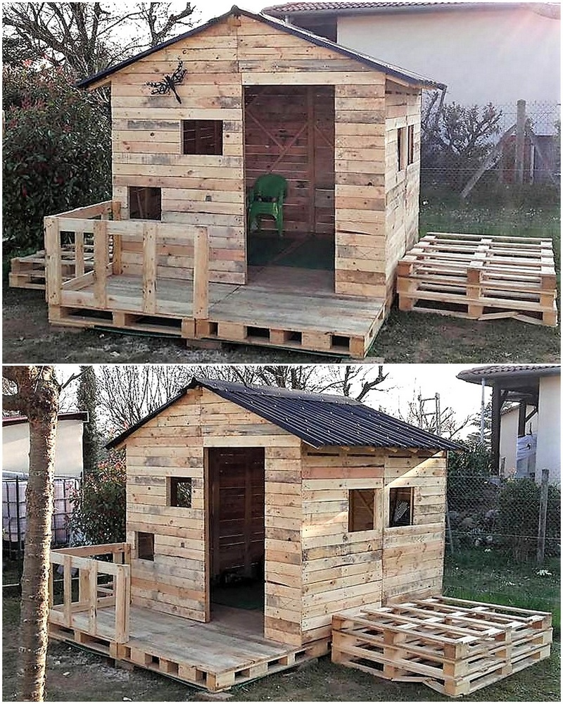 20 amazing plans for wood pallets repurposing wood for Amazing plans com