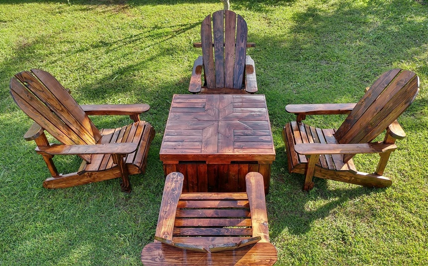 wooden pallet adirondack furniture