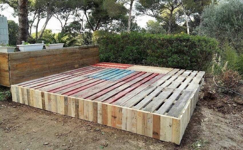 diy pallet deck ideas