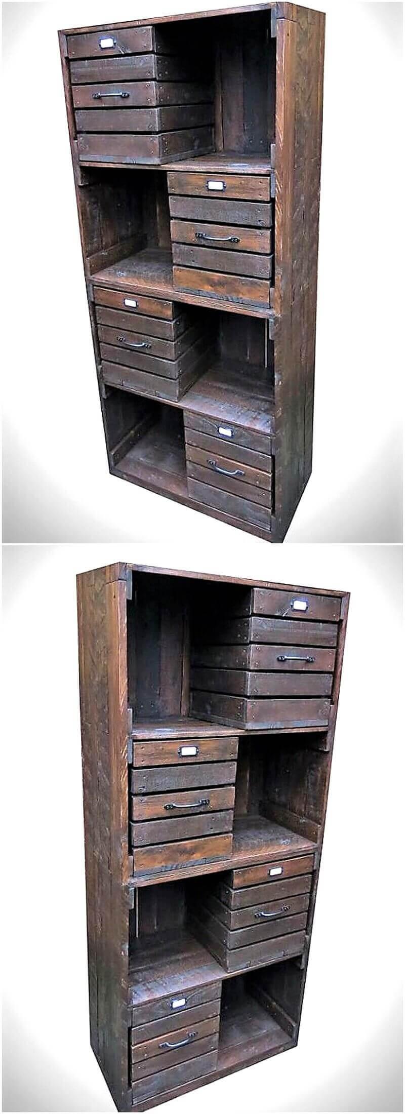 pallet shelving cabinet 2
