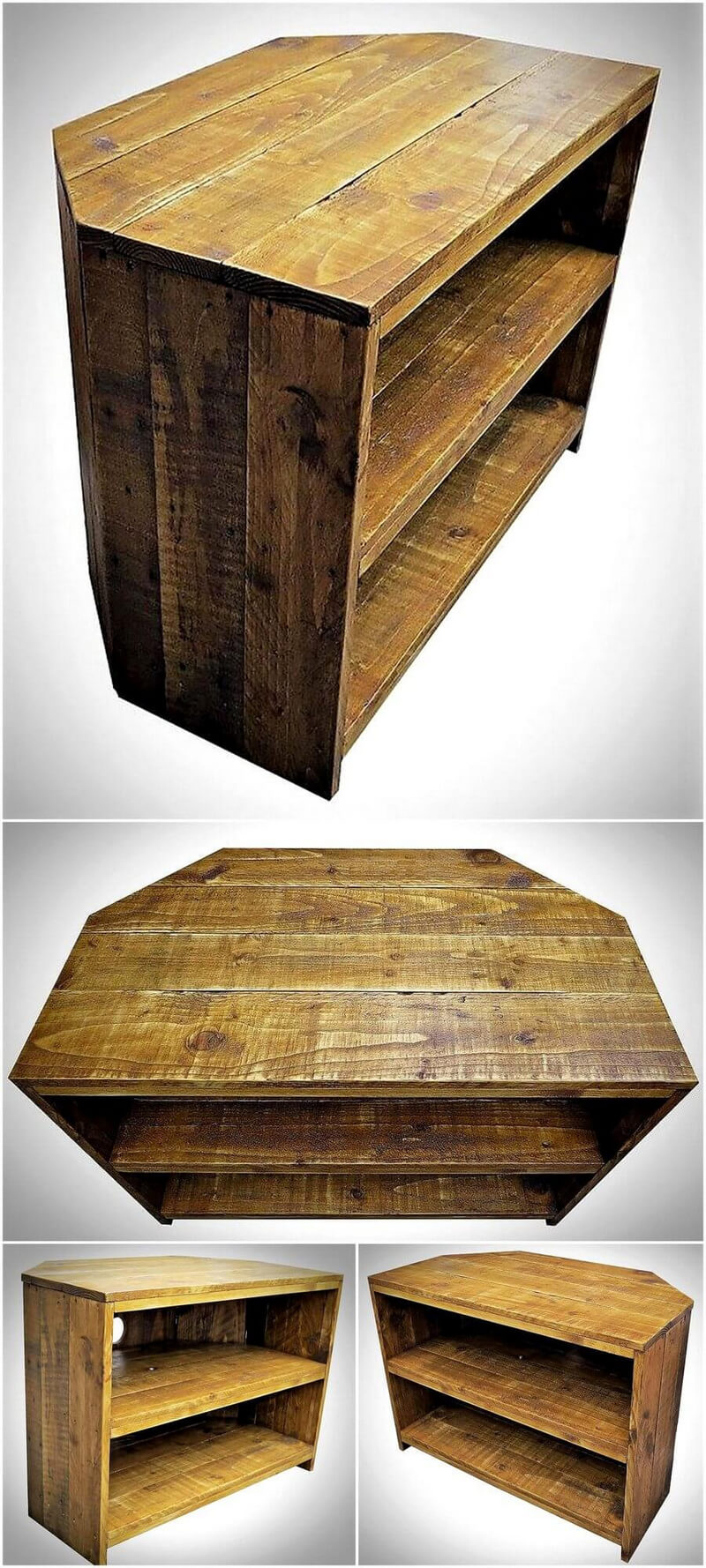 pallet side table idea 4