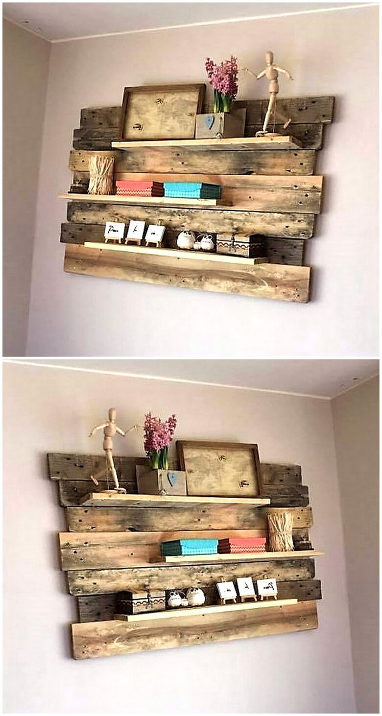 Really Functional Creations With Wood Pallets Pallet Furniture