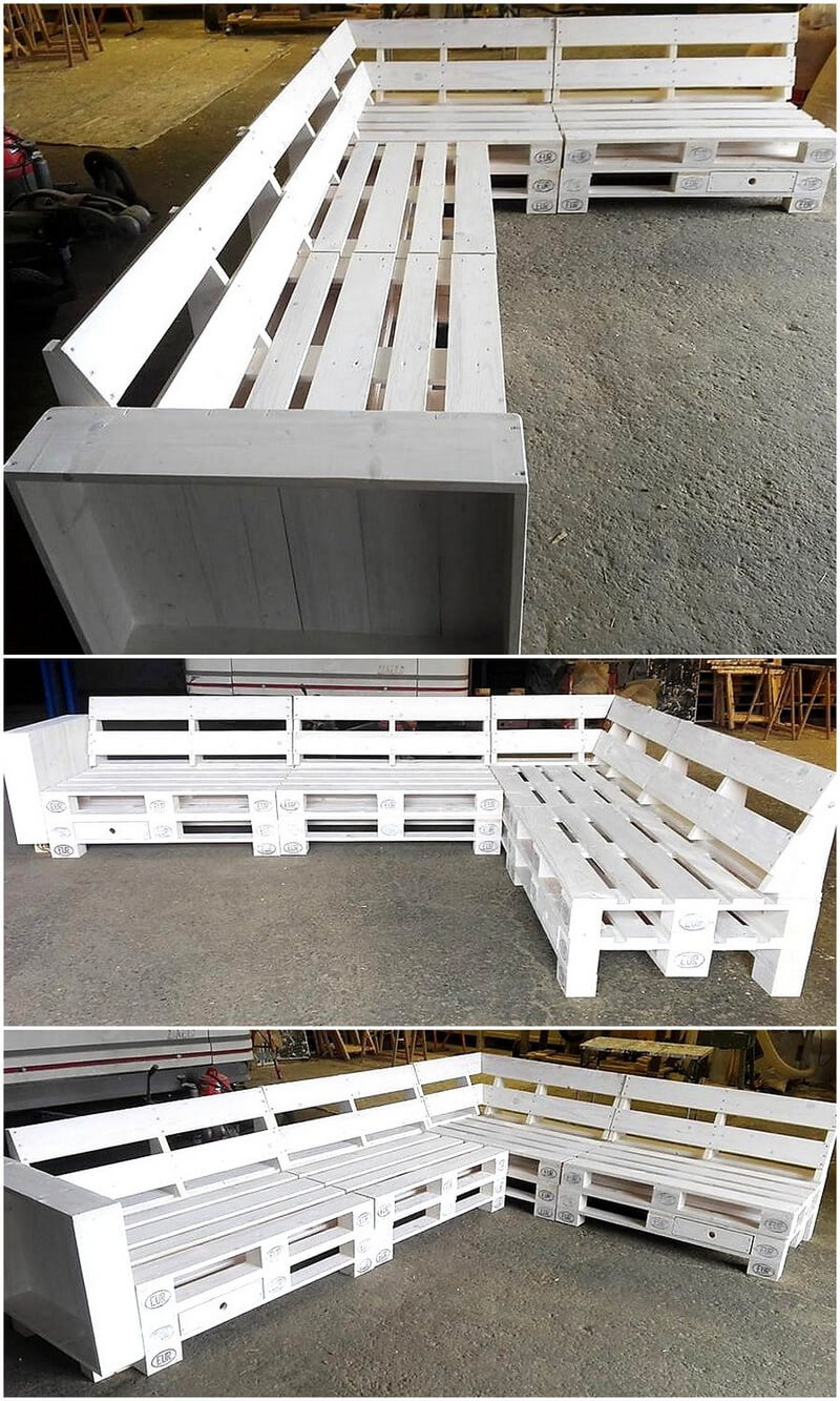 pallet wood couch plan