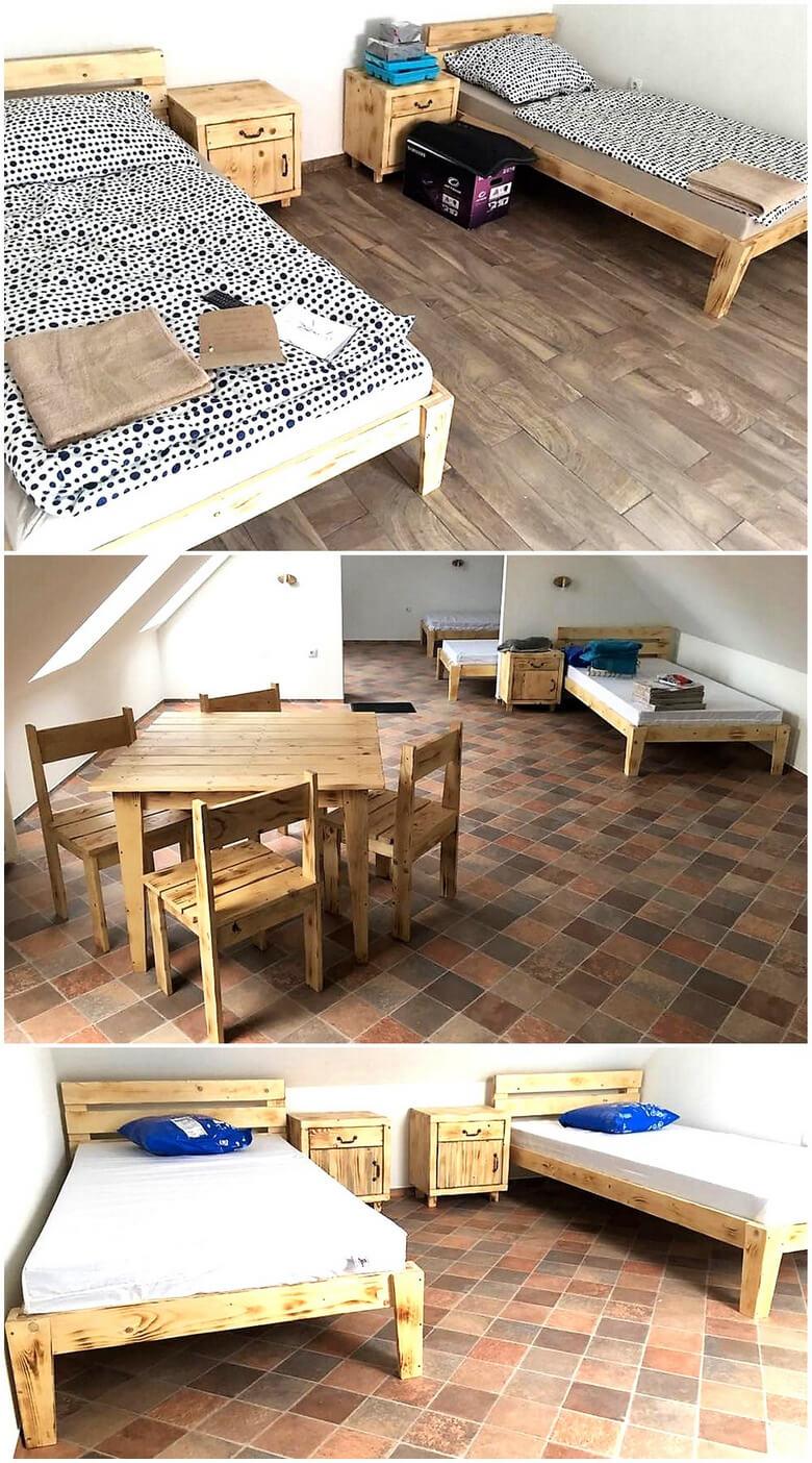 pallet wooden furniture ideas