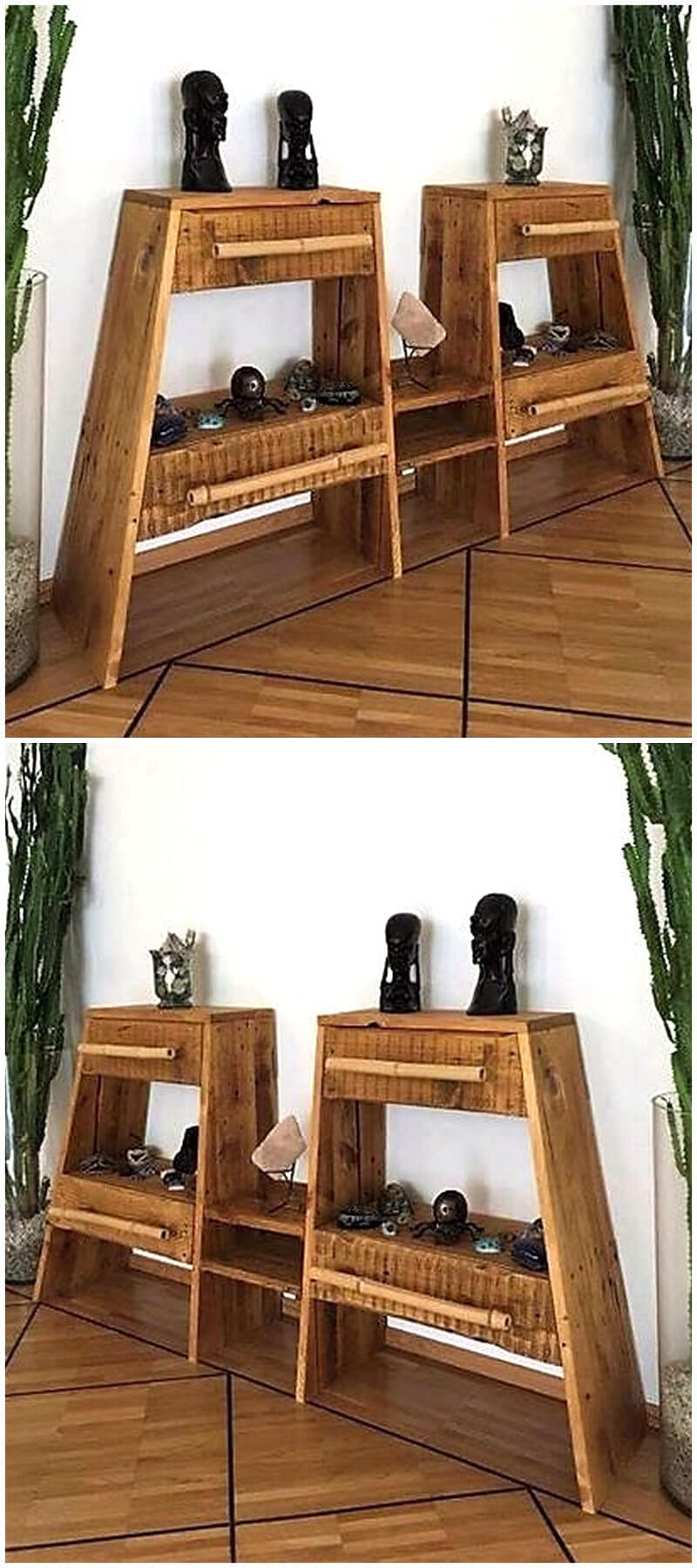 pallets entryway tables