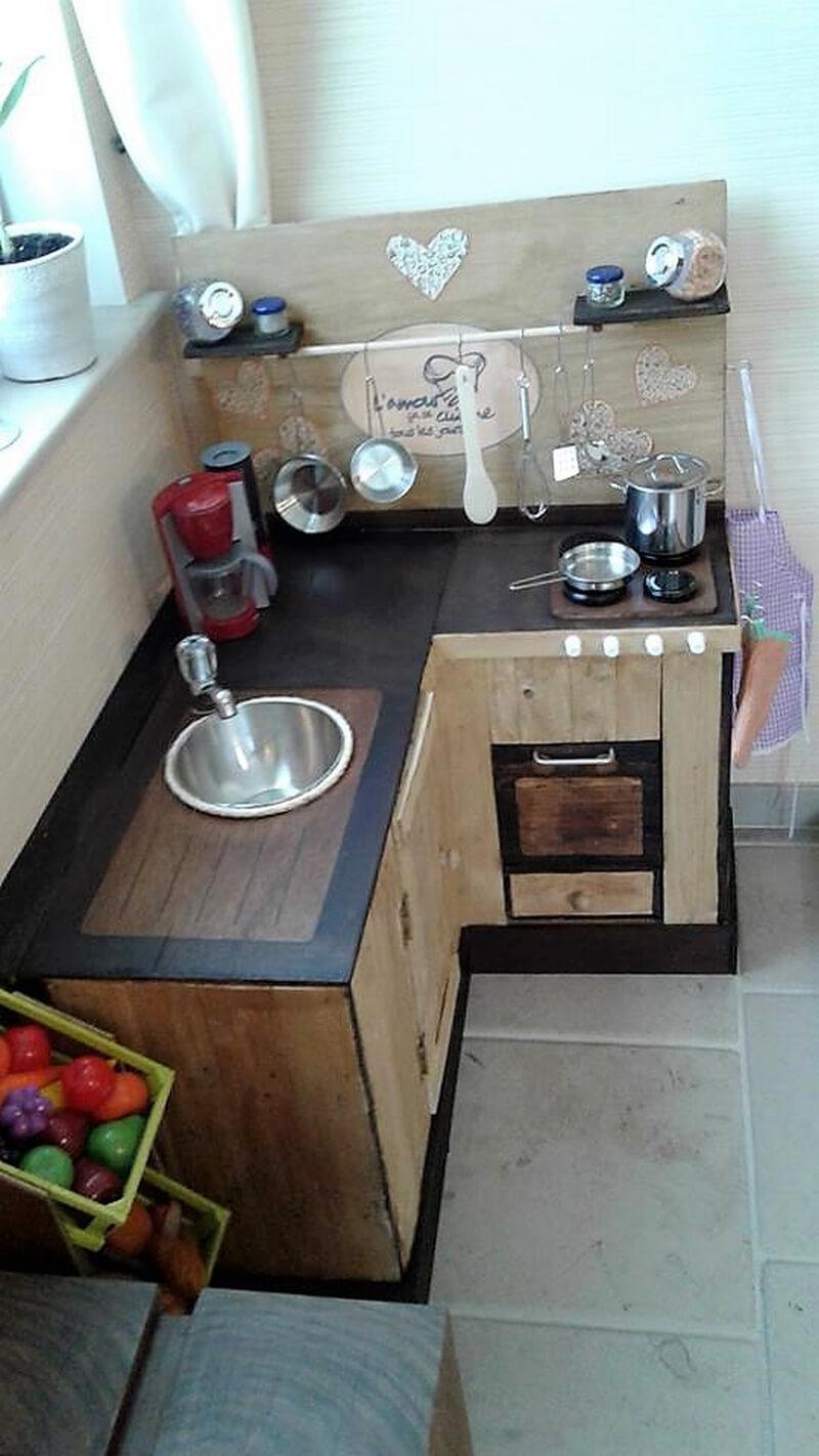 pallets kitchen island