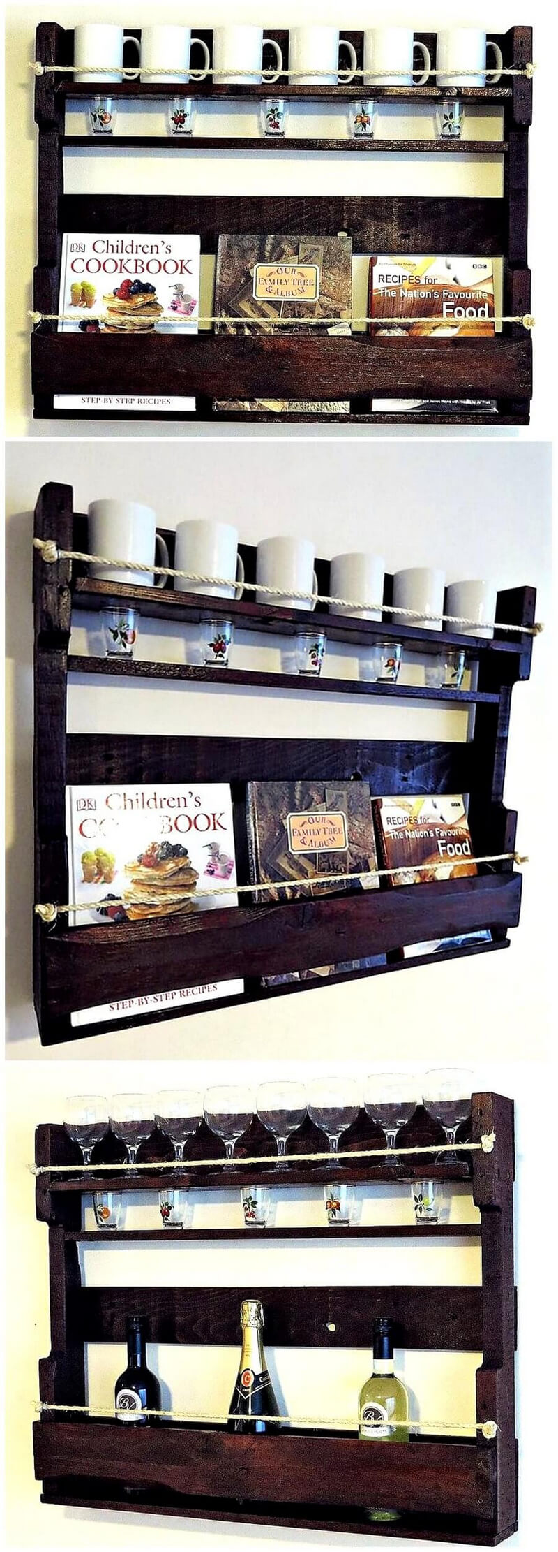 pallets kitchen shelf idea 8