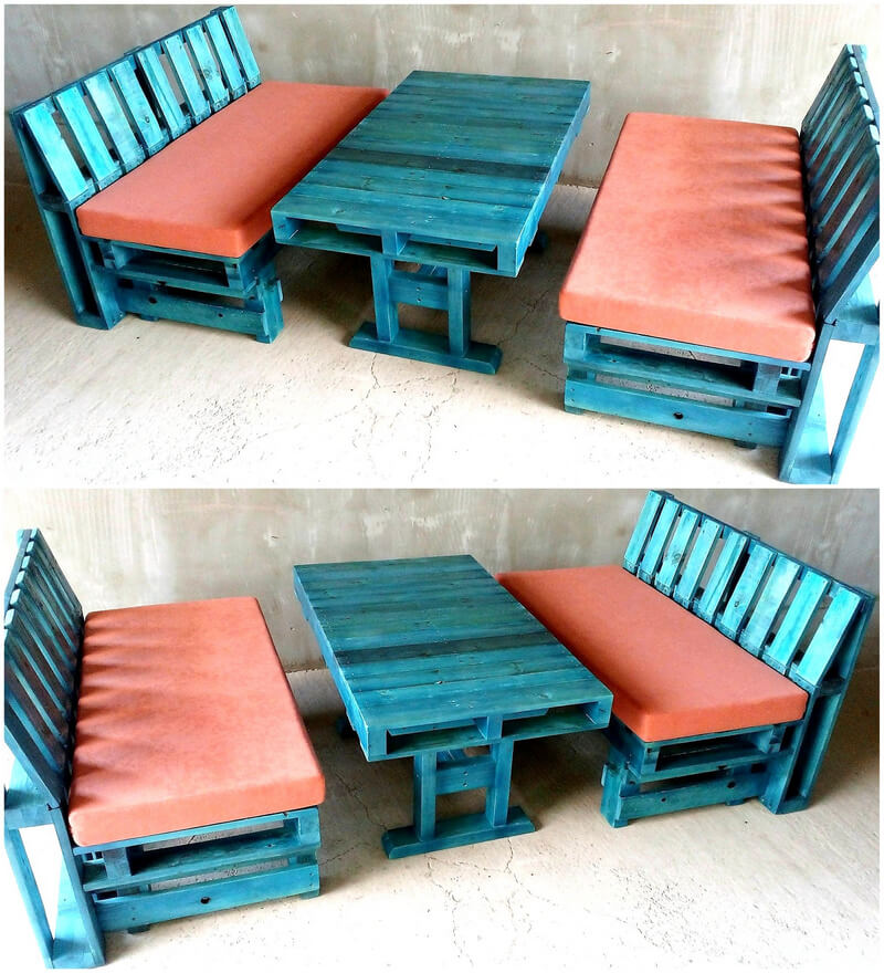 reclaimed wood pallet furniture