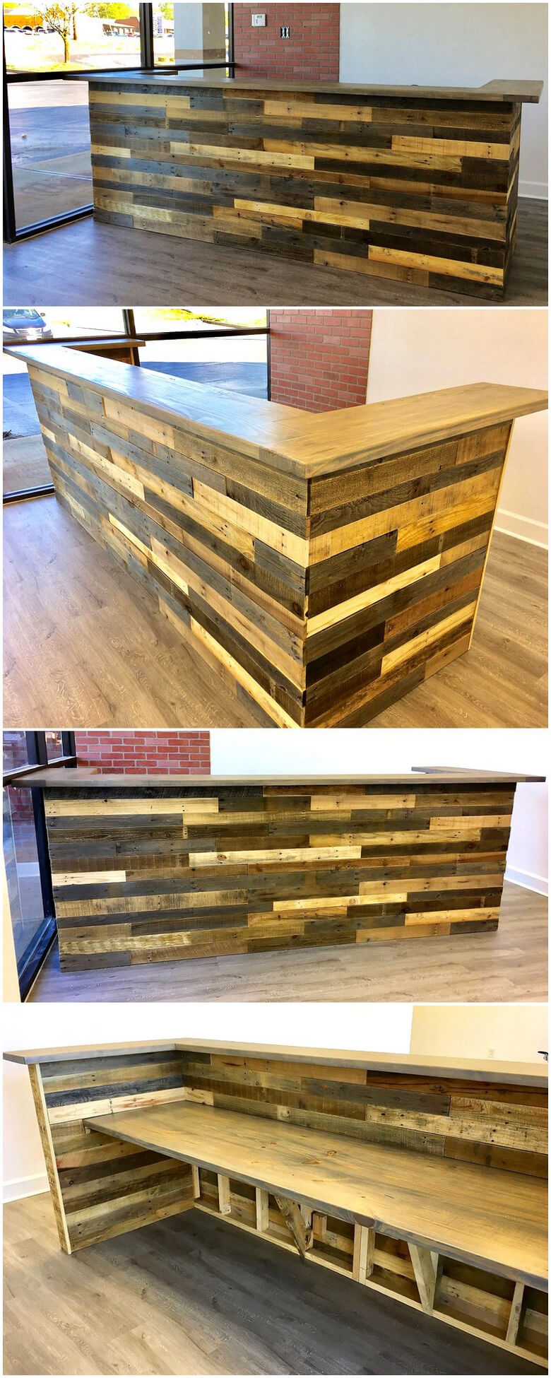 Really Functional Creations With Wood Pallets Wood