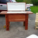 Repurposed Wooden Pallets Cooler Plan
