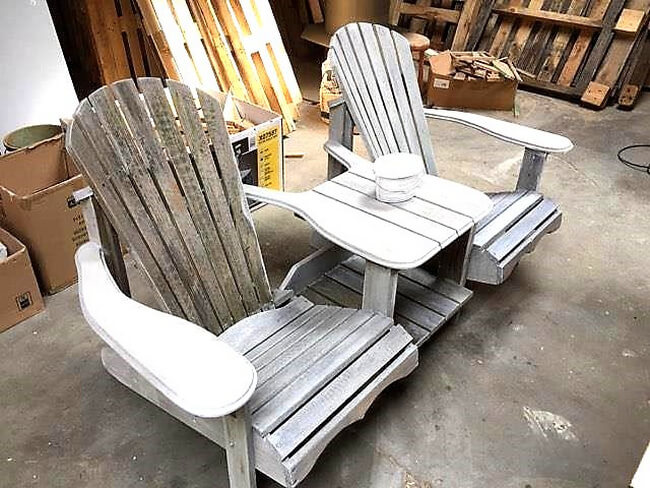pallet chairs idea