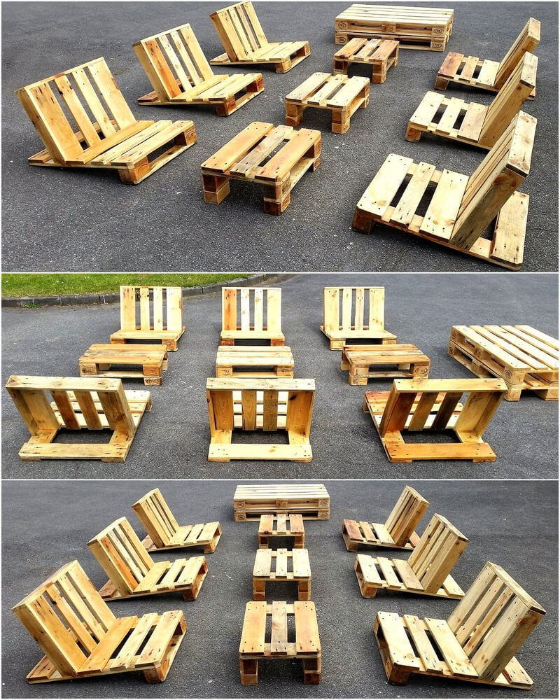 pallet sun bathing furniture idea