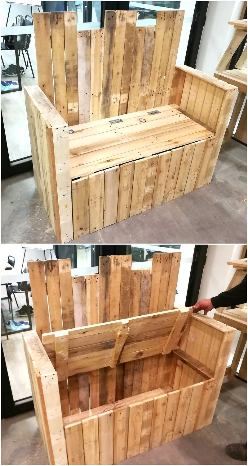 Diy motive ideas for wood pallets repurposing wood for Repurposed pallet projects