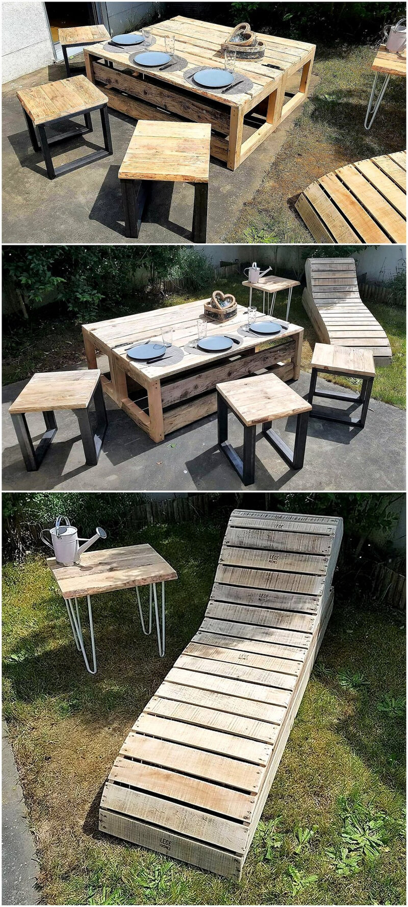 Follow these amazing wood pallets recycling ideas wood for Repurposed pallet projects