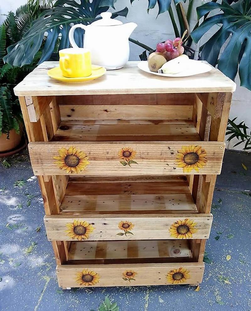 wood pallet kitchen table idea