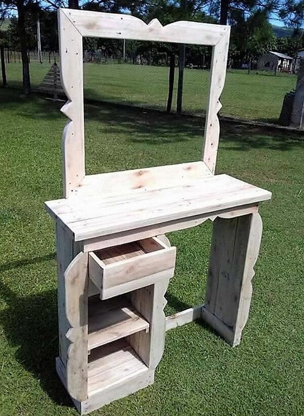 wood pallet vanity 2