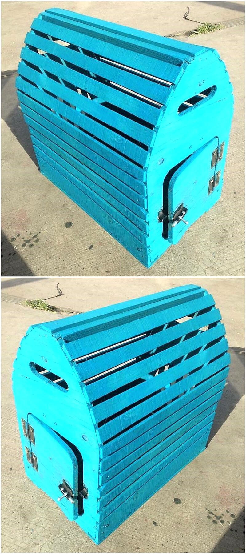 wood pallets made cage