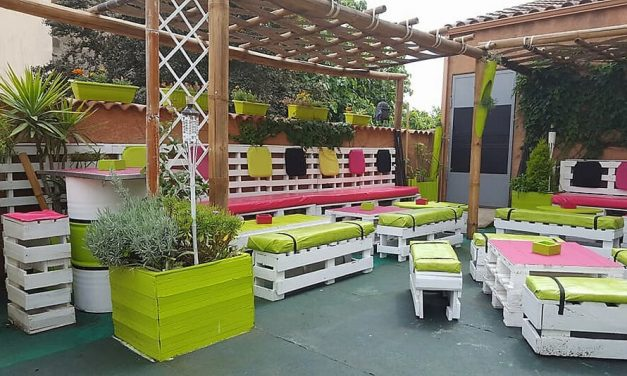 Awesome Pallet Patio Terrace Furniture Plans