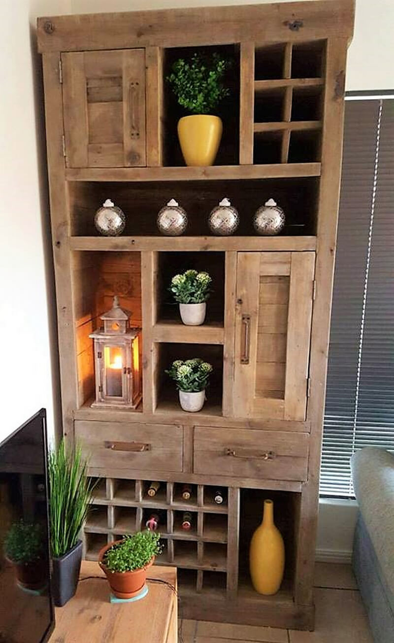 pallets cabinet plan