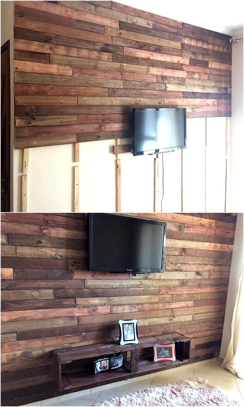 diy pallet wall art plan