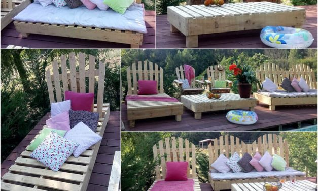 Surprising DIY Ideas For Old Used Pallets
