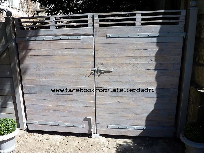 pallets made gate