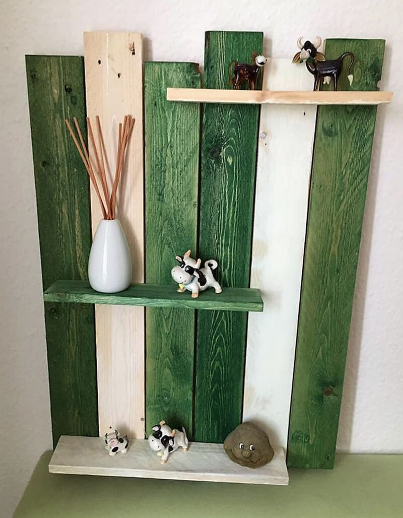 pallets made shelf