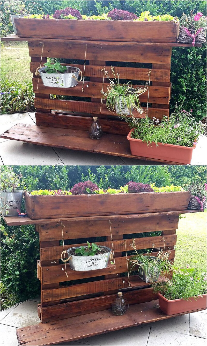 pallets planter idea