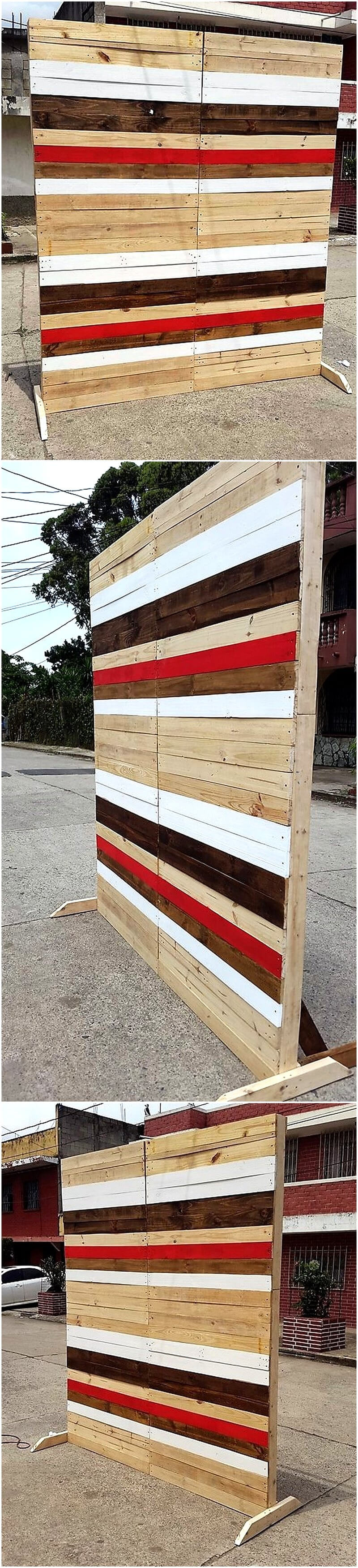 pallets space divider project