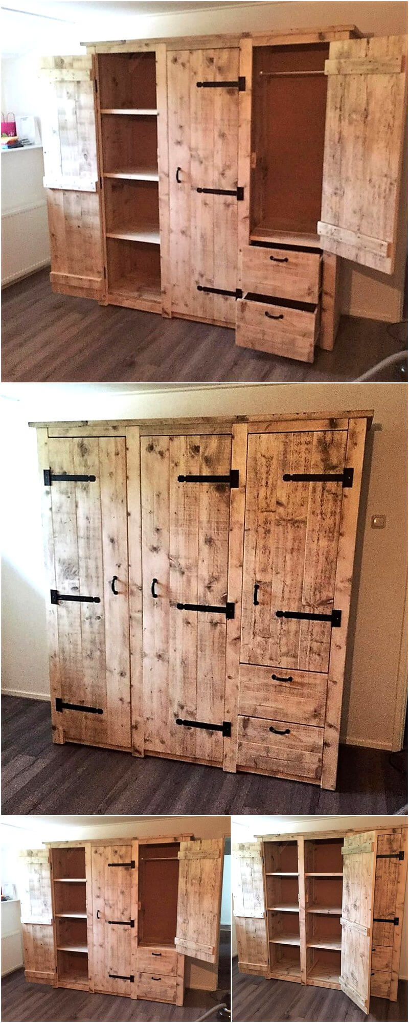 Creative Creations with Reclaimed Wooden Pallets | Page 2 ...