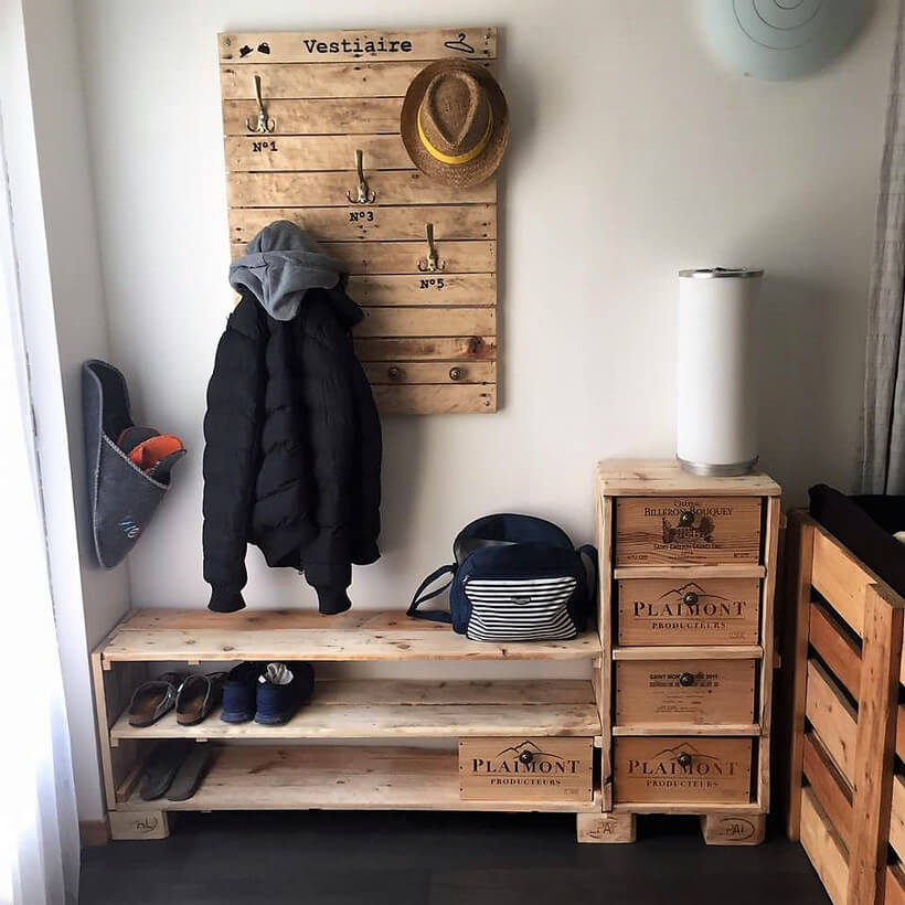 recycled pallets works