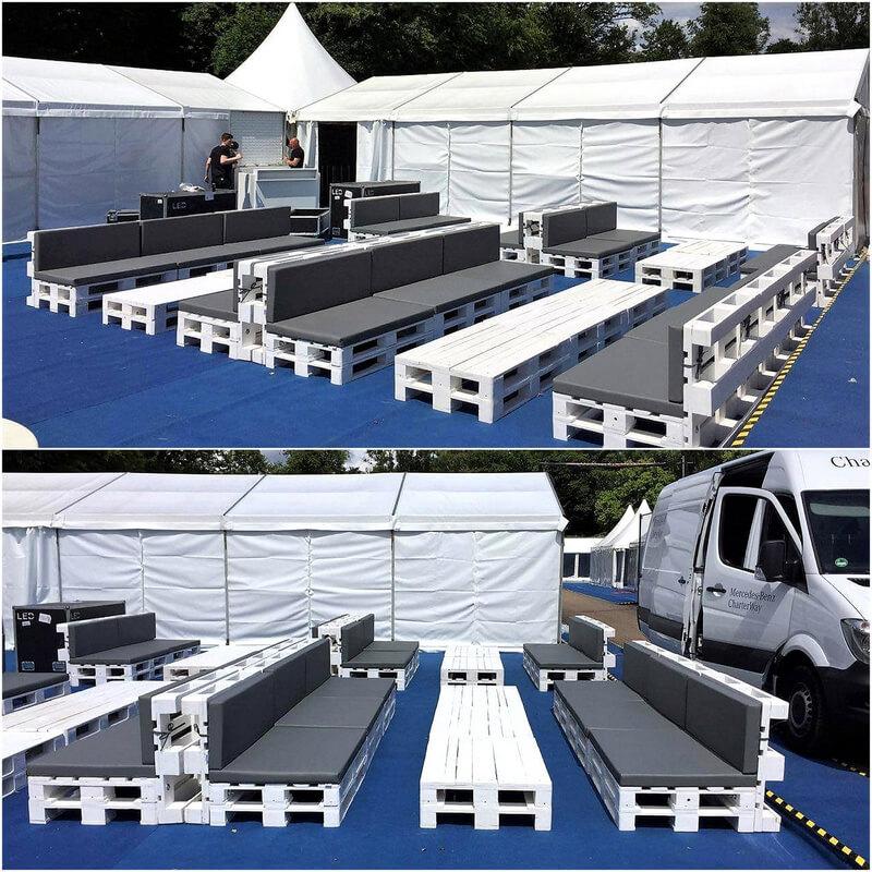 repurposed pallets furniture plan