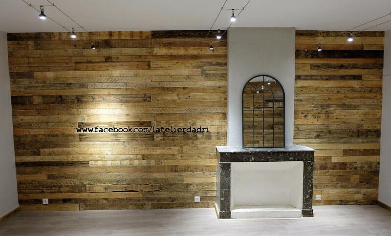 repurposed pallets wall art