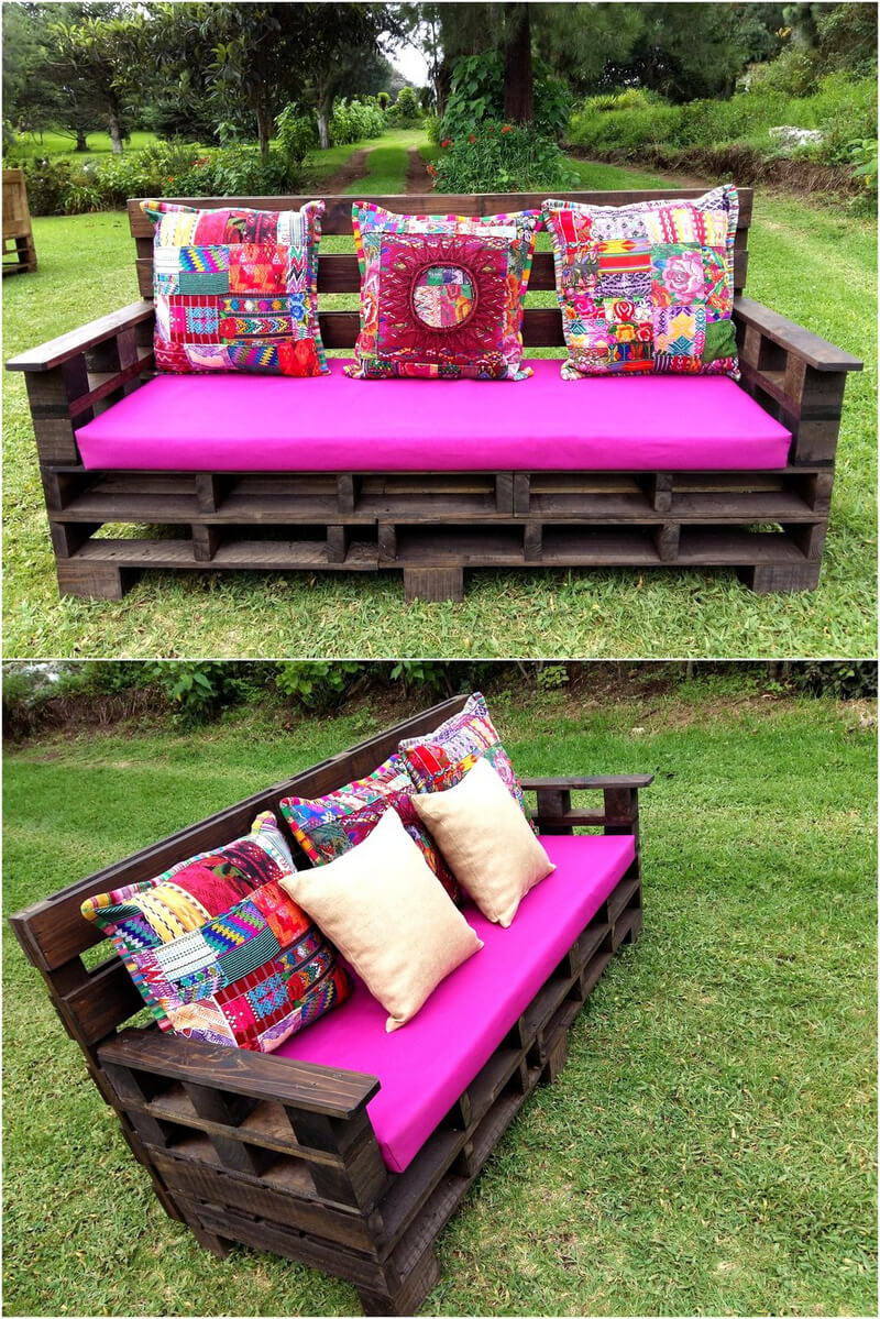 wooden pallets garden furniture