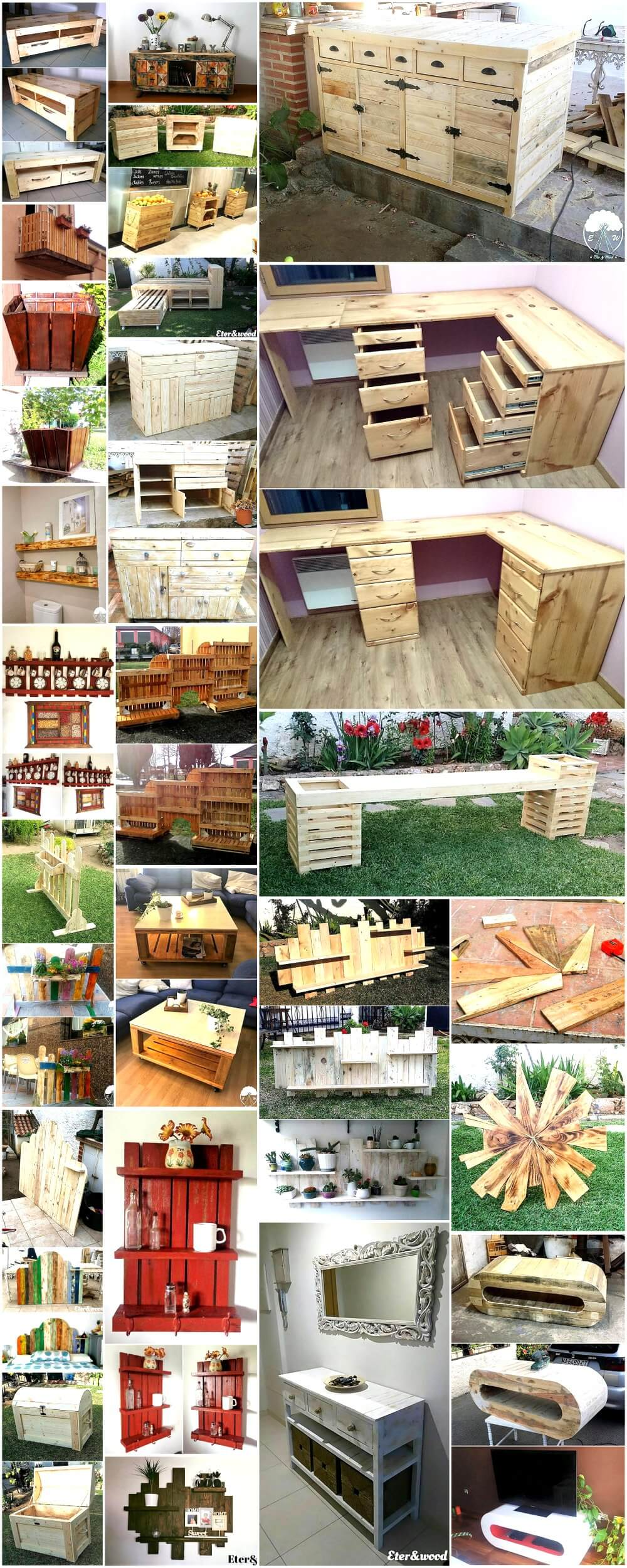 DIY Crafting Ideas with Recycled Wood Pallets 1