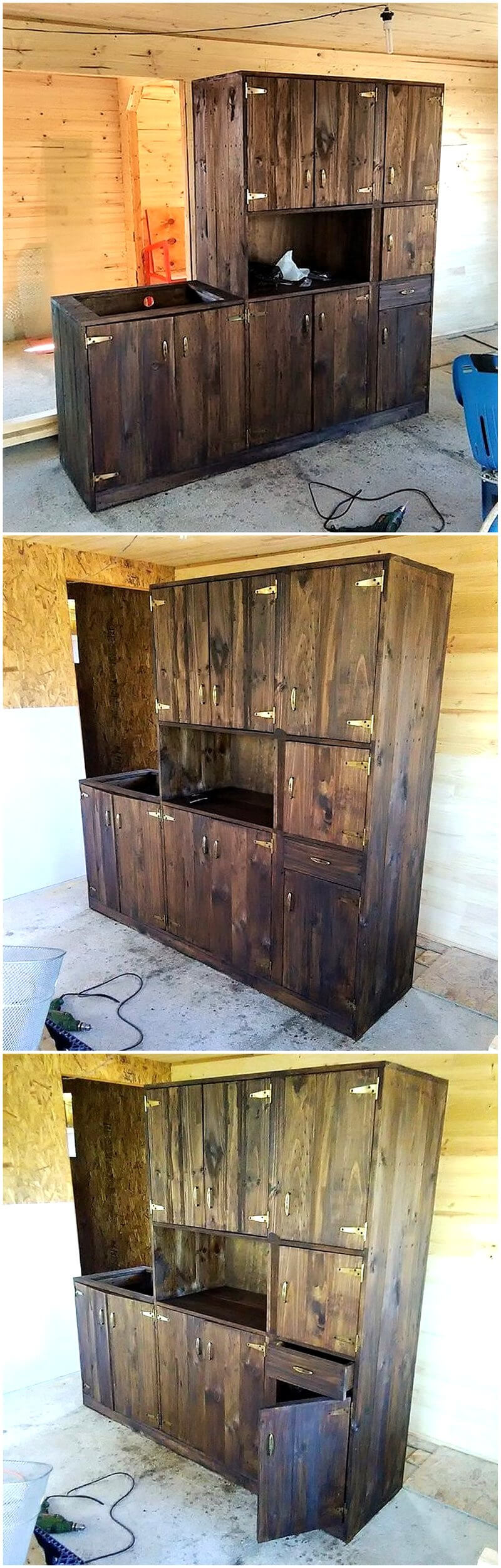 Reusing Ideas For Old Used Dumped Pallets Wood Wood Pallet Furniture # Muebles Pailets