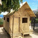 DIY Recycled Pallets Kids Toys And Playhouse