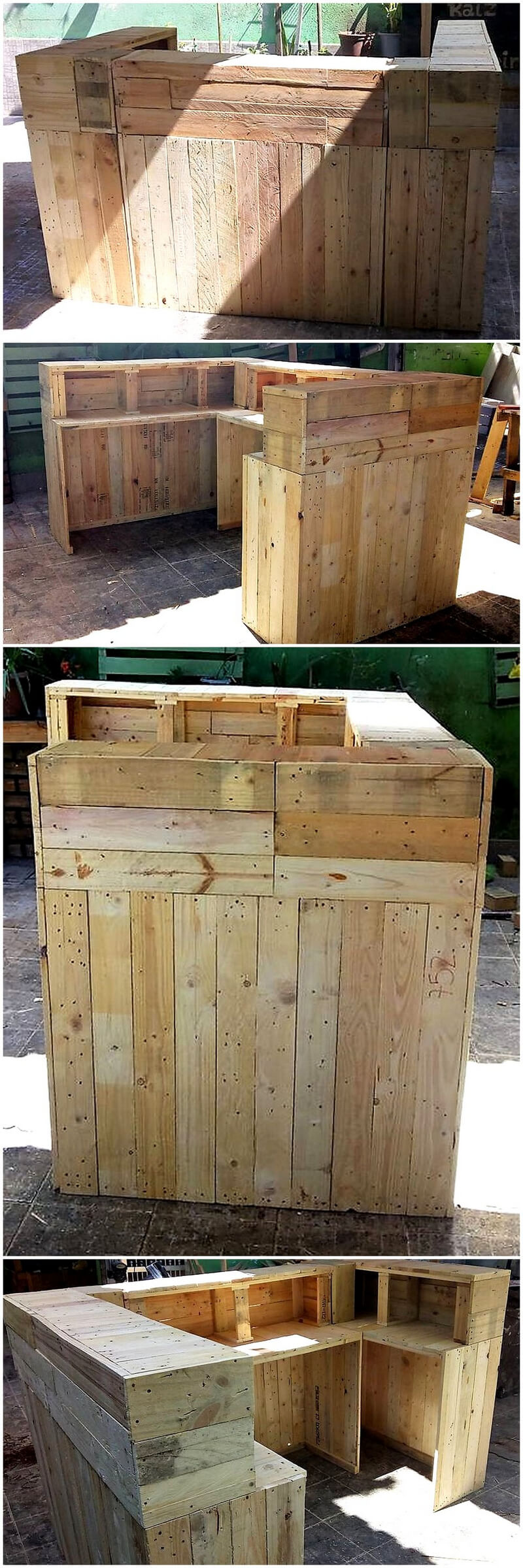 pallets counter plan