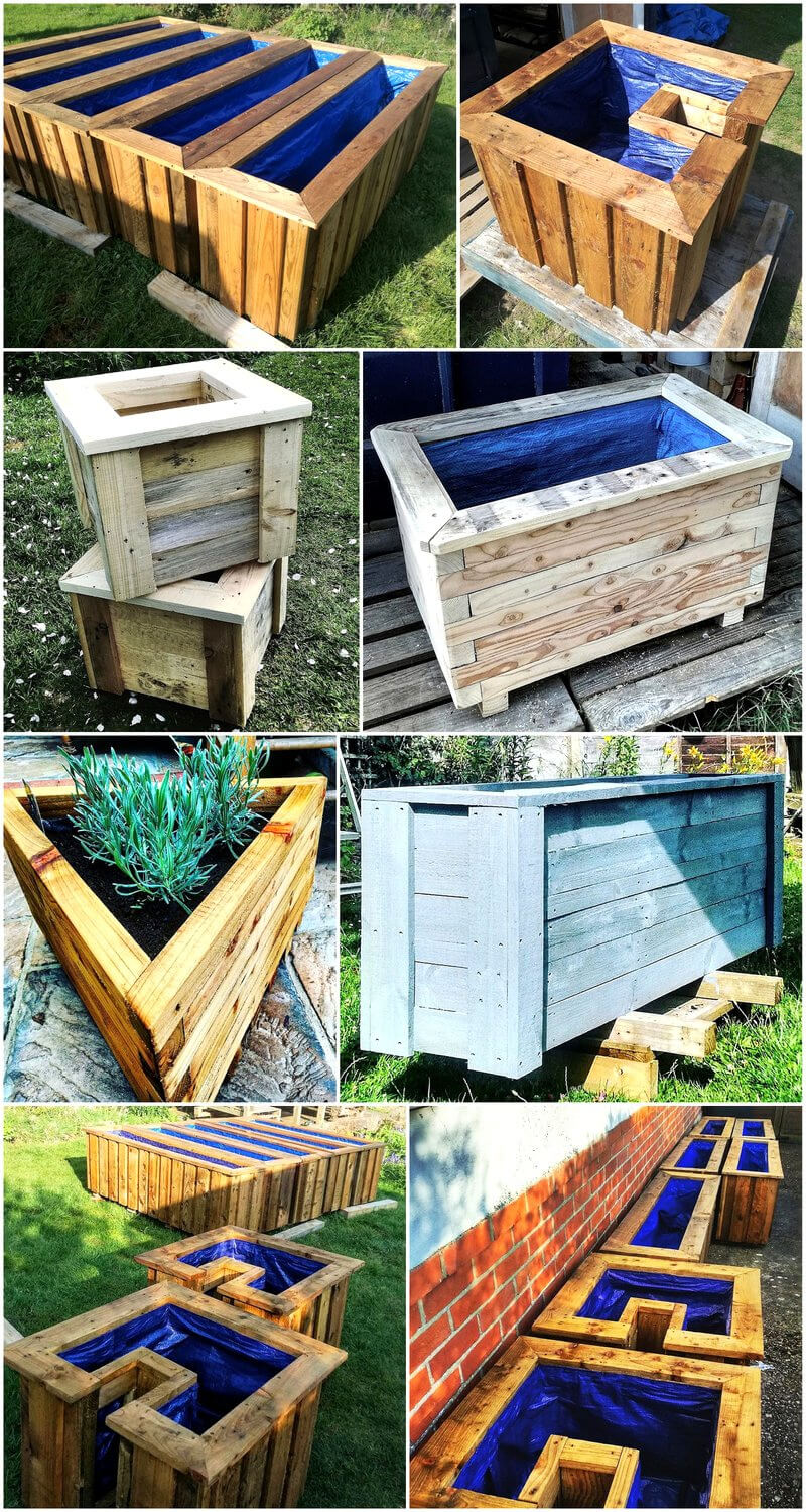 pallets garden planters ideas