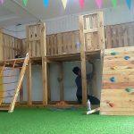 Pallets Wooden Made Kids Playground